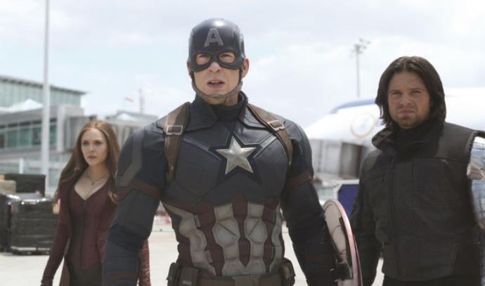 """""""קפטן אמריקה: מלחמת האזרחים"""""""