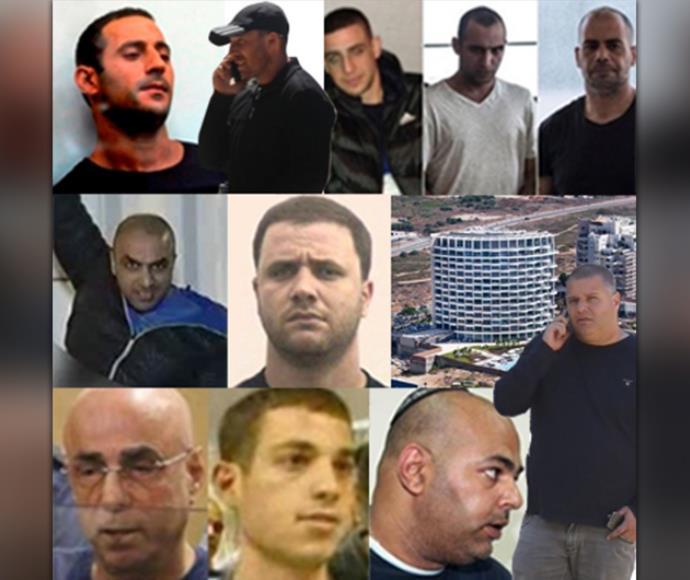 מפת ארגוני הפשיעה בישראל