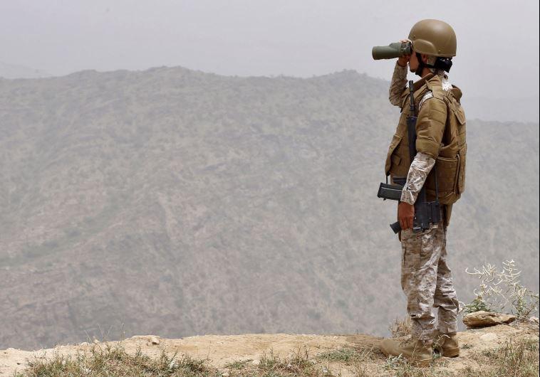 חייל סעודי בתימן. צילום: רויטרס