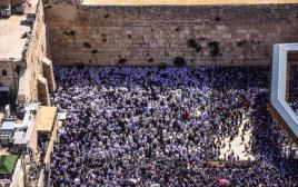 """ברכת הכהנים בירושלים, חוה""""מ פסח"""