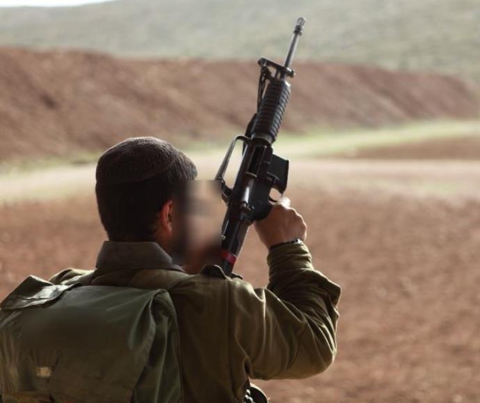 חייל בגדוד נצח יהודה, ארכיון. למצולם אין קשר לכתבה