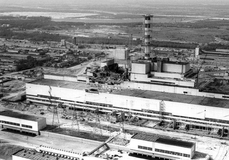 אסון צ'רנוביל, 1986. רויטרס