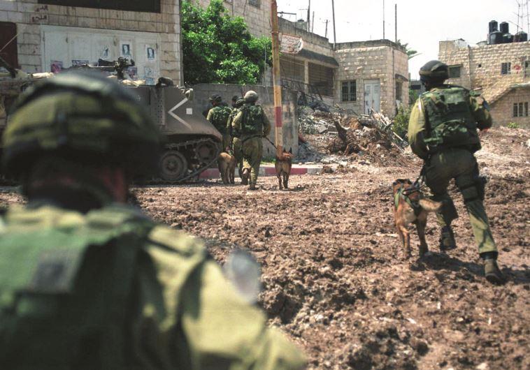 """בקרב על ג'נין במהלך מבצע חומת מגן. צילום: דובר צה""""ל"""