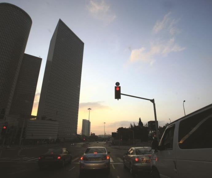 זריחה בתל אביב