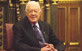 """נשיא ארה""""ב לשעבר ג'ימי קרטר"""
