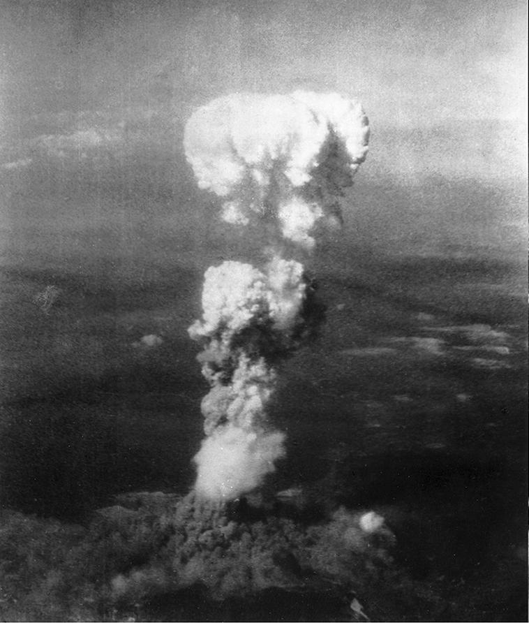 מאות אלפים נהרגו. פצצת האטום  על הירושימה, 1945