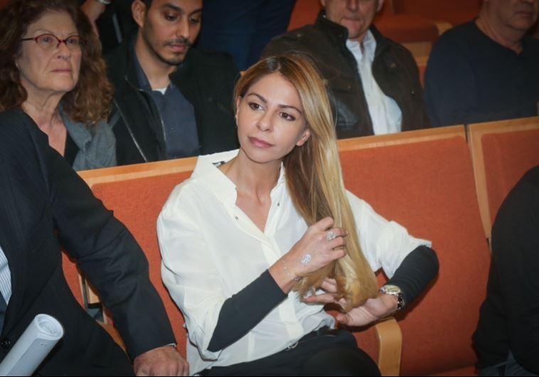 ענבל אור בבית המשפט. צילום: פלאש 90