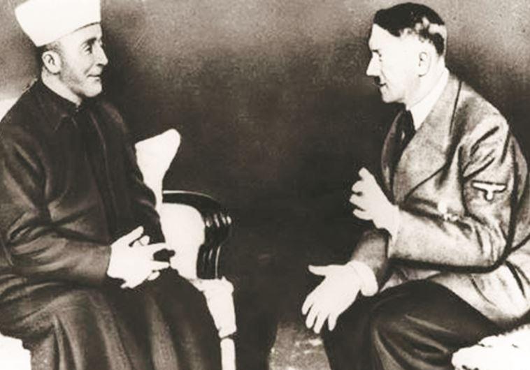 Amin al-Husseini and a friend