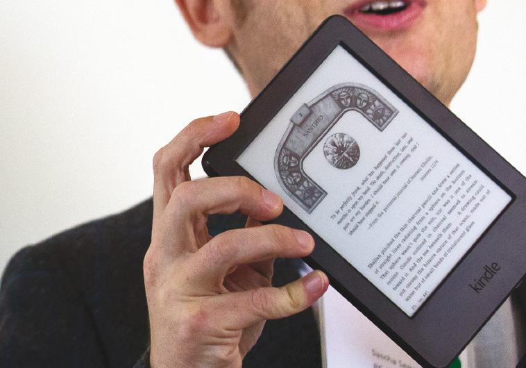 הקורא המבוקש ביותר, הקינדל. צילום: רויטרס