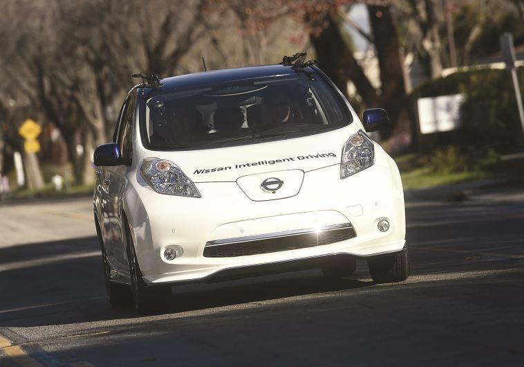 המכונית האוטונומית. צילום: רויטרס