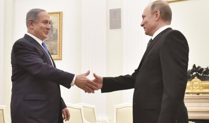 ולדימיר פוטין ובנימין נתניהו