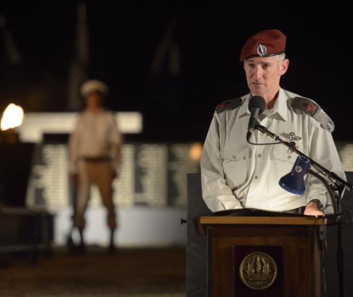 """מתח את הגבול. יאיר גולן, צילום: דובר צה""""ל"""