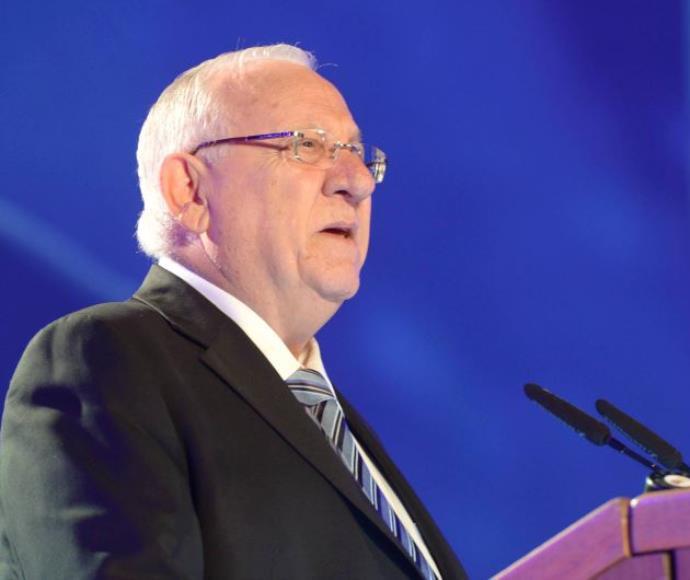 נשיא המדינה ראובן ריבלין בקיבוץ לוחמי הגטאות