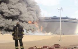 פיגוע שביצע דאעש במתקן נפט בלוב