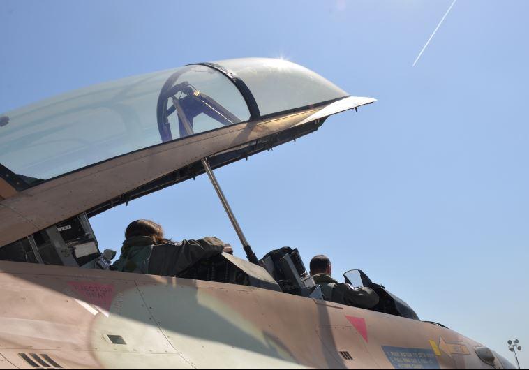 טייסים על F-16 בתרגיל