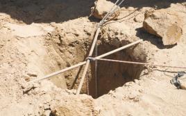 מנהרה שחפרו אנשי חמאס