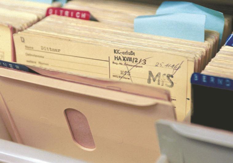 מסמכים סודיים של השטאזי