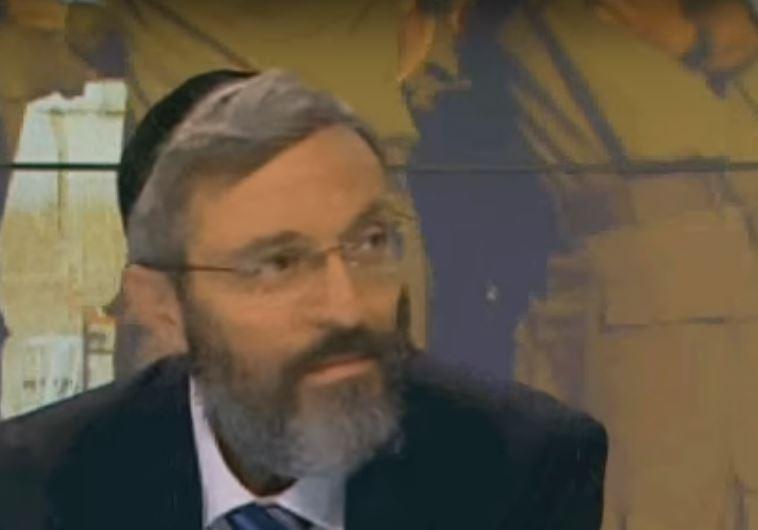 """""""רוצה יהודים, לא ערביסטים"""". דב הלברטל. צילום מסך: יוטיוב"""