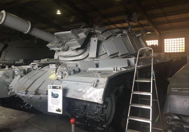 הטנק מקרב סולטן יעקוב