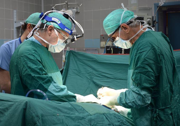 ניתוח השתלת איברים, ארכיון. צילום: בילינסון