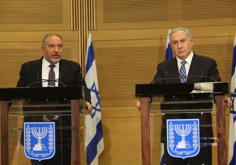נתניהו וליברמן, צילום: מרק ישראל סלם