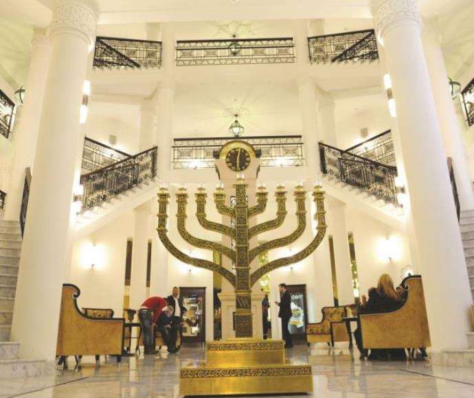 בית הכנסת במלון וולדורף אסטוריה בירושלים