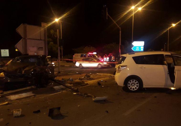 תאונת דרכים קטלנית בצומת מודיעים