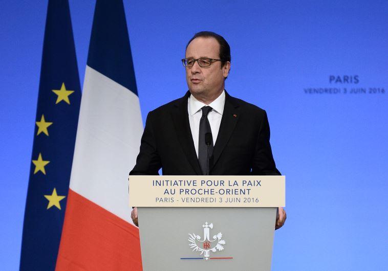 פרנסואה הולנד בוועידת פריז. צילום: AFP