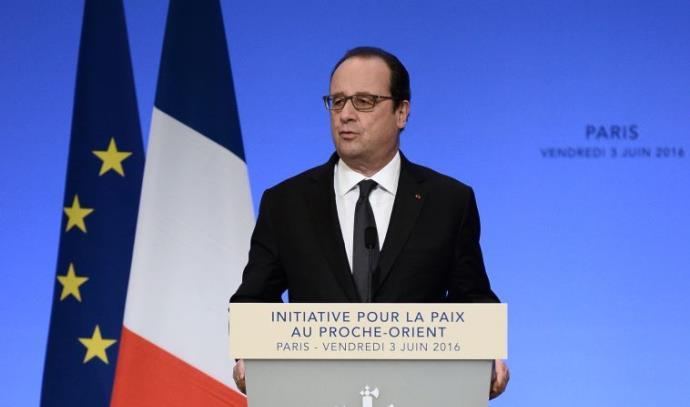 פרנסואה הולנד בוועידת פריז