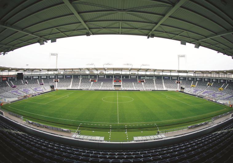 האצטדיון העירוני בטולוז. צילום: רויטרס