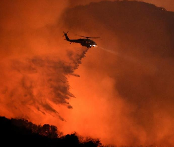 שריפה בקליפורניה, ארצות הברית