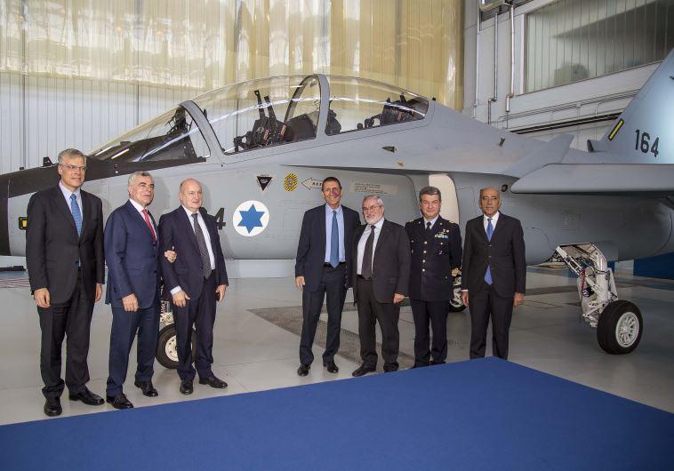 מטוס אימונים מדגם לביא. צילום: צילום:מנהל הרכש במשרד הביטחון