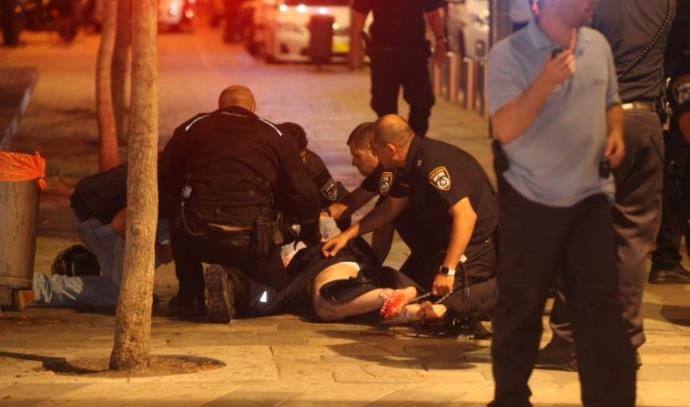 לכידת המחבל בפיגוע הירי בשרונה