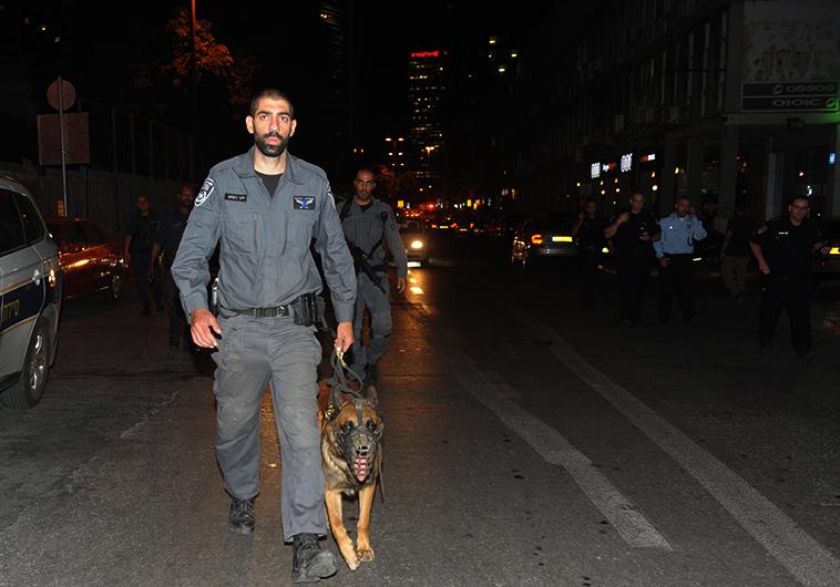 כוחות הביטחון במקום הפיגוע. צילום: אבשלום ששוני