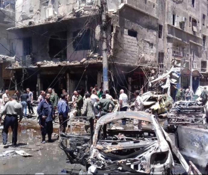 פיגוע דאעש בדמשק