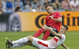 אלבניה מול שווייץ, יורו 2016