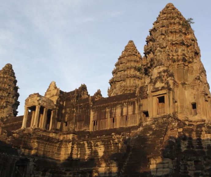מקדש אנגקור ואט בקמבודיה, שסמוך אליו התגלו הממצאים