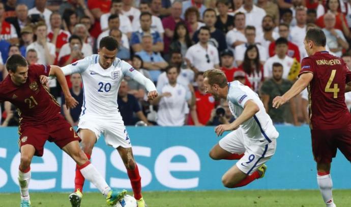 אנגליה נגד רוסיה, יורו 2016