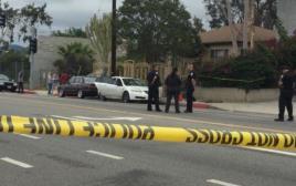 זירת מעצר החמוש בלוס אנג'לס