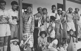 יהודי תימן בגבעת יערים, 1951