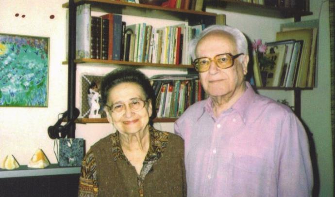 """אמנון שמוש ואשתו חנה ז""""ל"""