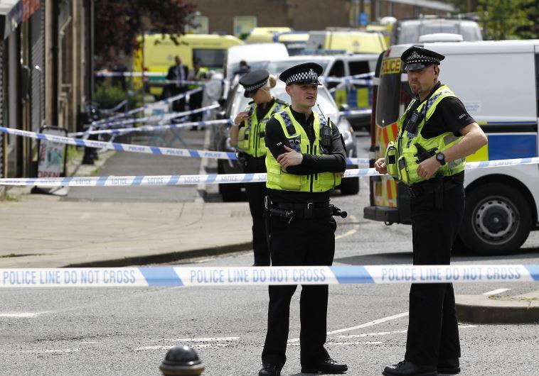 מקום הירי בחברת הפרלמנט בבירסטול. צילום: רויטרס