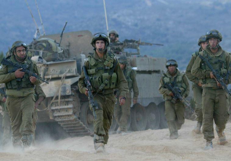 """לוחמי צה""""ל בגבול לבנון, אוגוסט 2006"""