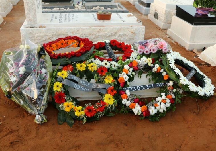 קברה של מרים ניסני. צילום: אבשלום ששוני