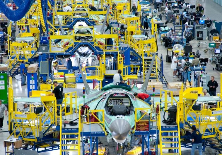 מטוס ה-F-35 במפעלי לוקהיד מרטין
