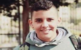 """מחמוד בדראן (15), שנהרג על ידי כוחות צה""""ל בכביש 443"""