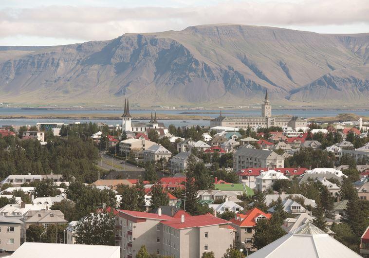 מעצמת ספורט, בירת איסלנד רייקיאוויק. צילום: רויטרס