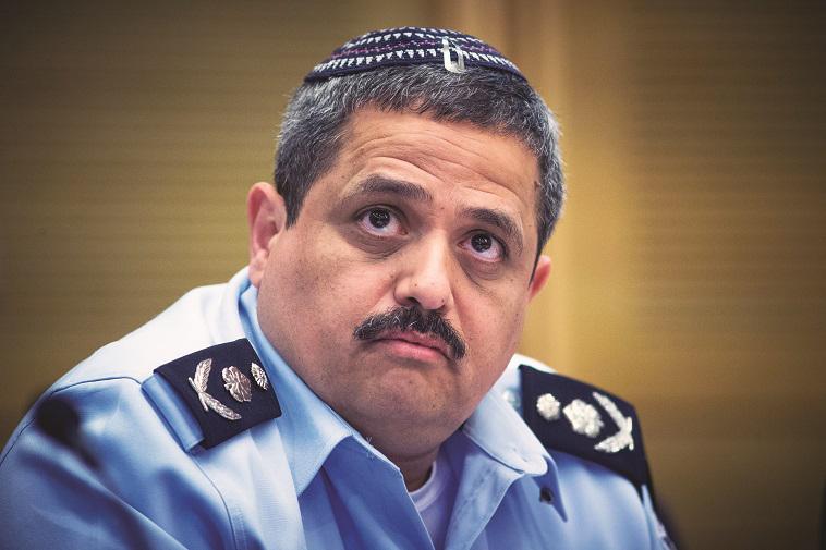 """""""רוני אלשיך הבטיח לבטל את מדד מספר המעצרים"""", צילום"""": יונתן זינדל, פלאש 90"""