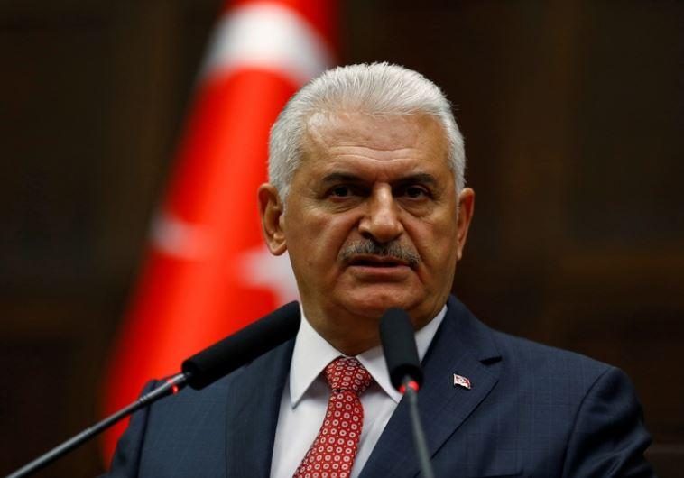 """רה""""מ הטורקי קורא לאזרחים לשוב לשגרה. צילום: רויטרס"""