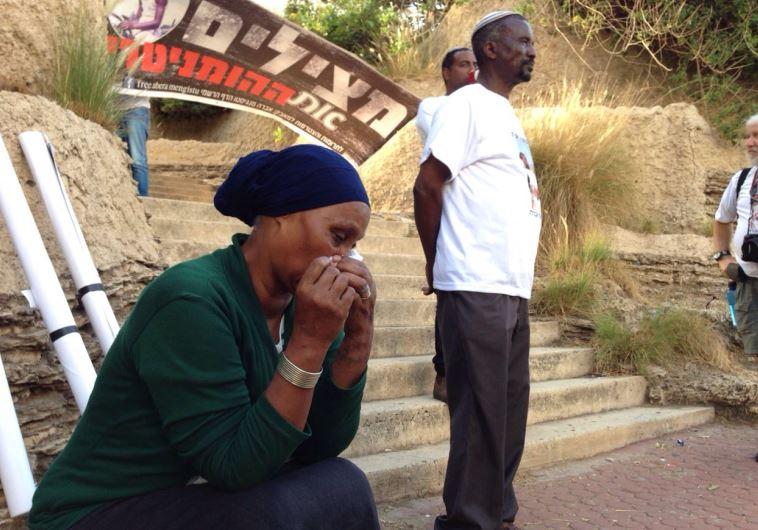 משפחתו של אברה מנגיסטו. צילום: רויטרס